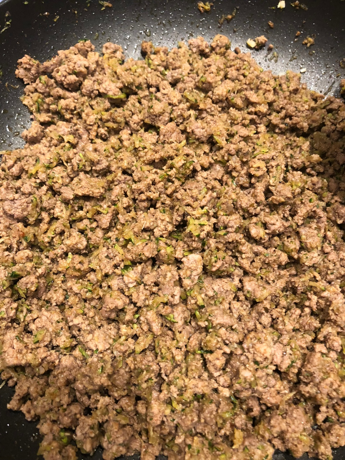 ground beef finished